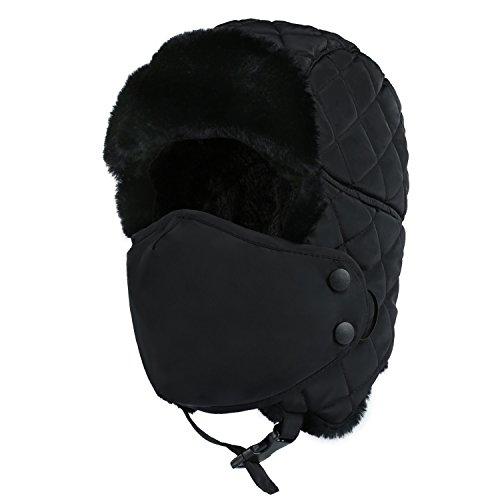 862d13e663ce3 Plizza Outdoor Winter Trooper Trapper Hat Hunting Cap Ushanka ...